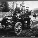 Atlanta, old scene: Early automobile, 1910-1919