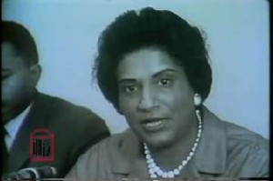 WSB-TV newsfilm clip of attorney Constance Baker Motley commenting on the lawsuit against Lester Maddox and the Pickrick restaurant for discrimination against African Americans, Atlanta, Georgia, 1964. Clip available at http://dlg.galileo.usg.edu/crdl/id:ugabma_wsbn_42587