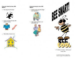 Bee smart! bee cool: a children's guide to Africanized honeybees. Georgia. Dept. of Agriculture