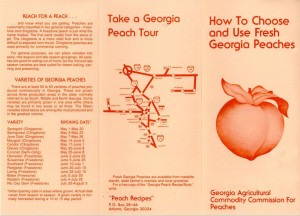 How to choose and use fresh Georgia peaches. Georgia. Dept. of Agriculture. Agricultural Commodity Commission for Peaches.