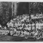 Photograph of State Normal School students, Athens, Georgia. Navy Supply Corps School and State Normal School Collection, Athens-Clarke County Library.