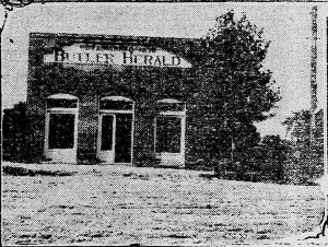 Butler Herald Office, Butler Herald, Sept. 4, 1919