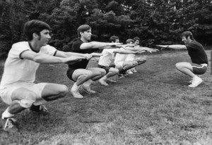 Clayton's recreation program to keep men fit, Georgia, June 1, 1971. Copyright Atlanta Journal-Constitution. AJCP551-51e, Atlanta Journal Constitution Photographic Archives. Special Collections and Archives, Georgia State University Library.