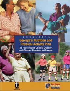 2005-2015 Georgia's nutrition and physical activity plan to prevent and control obesity and chronic diseases in Georgia. Georgia. Division of Public Health.