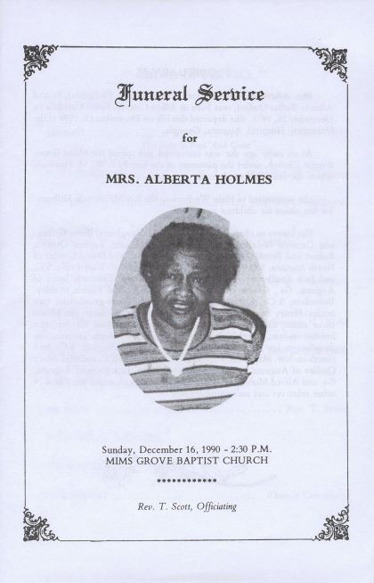 african american funeral programs from the augusta richmond county
