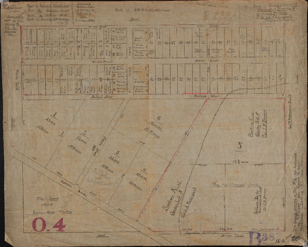 Historical Savannah city maps available online – the DLG B