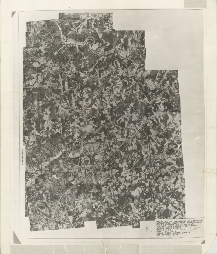 Dekalb County, 1938: Aerial photography index
