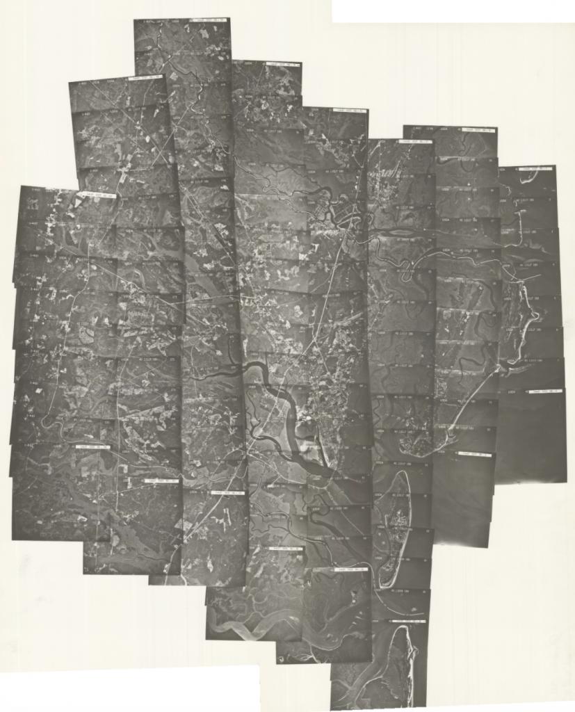 Glynn County, 1981: Aerial photography index