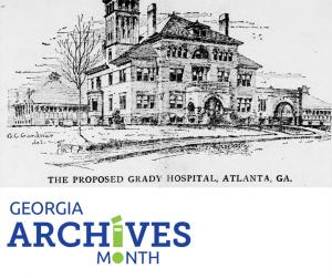 Illustration of Grady Hospital